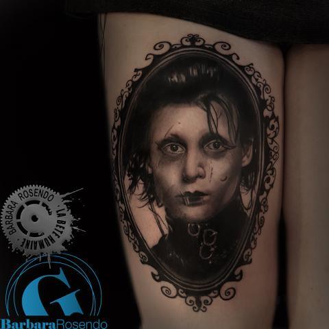 meilleure-tatoueuse-paris-barbara-rosendo-bete-humaine-tatouage-tim-burton