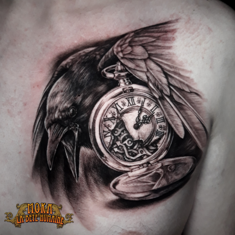 moka-tatoueur-paris-realiste-style-realisme-tatouage-tattoo-horloge-montre