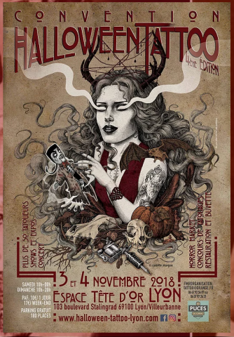 tatoueur-paris-convention-halloween-tattoo-lyon