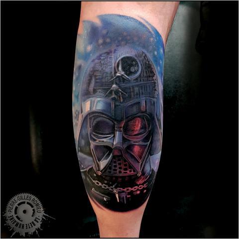 tatoueur-paris-pierre-gilles-romieu-tatouage-dark-vador-la-bete-humaine