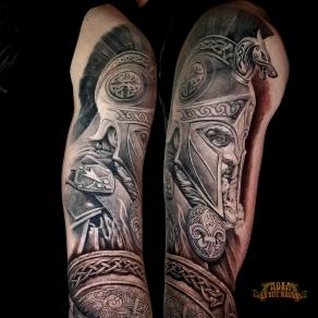 moka-tatoueur-paris-realiste-style-realisme-tatouage-tattoo-soldat-antiquite