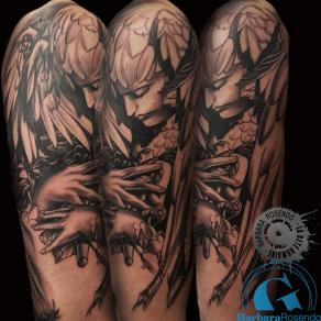 barbara-rosendo-realistic-tattoo-tatouage-realiste-noir-et-gris-black-and-grey-angel-ange-ayami-kojima
