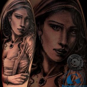 barbara-rosendo-realistic-tattoo-tatouage-realiste-noir-et-gris-black-and-grey-chaperon-rouge