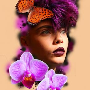 barbara-rosendo-realistic-tattoo-tatouage-realiste-colors-couleurs-papillon-orchidee-butterflie-flower