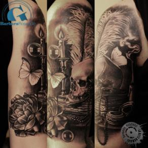 barbara-rosendo-realistic-tattoo-tatouage-realiste-noir-et-gris-black-and-grey-vanités