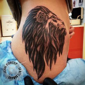Jean Forcep tatoueur a la bete humaine - paris