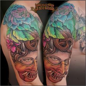 meilleur-tatoueur-paris-pierre-gilles-romieu-tatouage-geisha-masque-samourai-tattoo