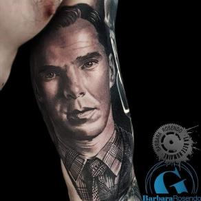 meilleure-tatoueuse-paris-barbara-rosendo-tatouage-benedict-cumberbatch-tattoo