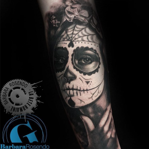 meilleure-tatoueuse-paris-barbara-rosendo-tatouage-catrina-tattoo