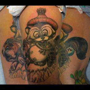 Moka_guest_tattoo_tanuki