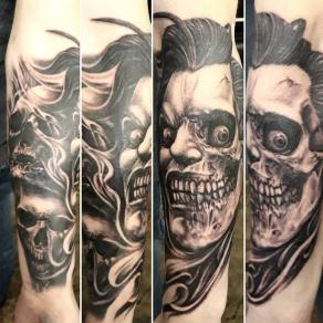 tatoueur-guest-paris-moka-tatouage-joker-batman-macabre-tattoo